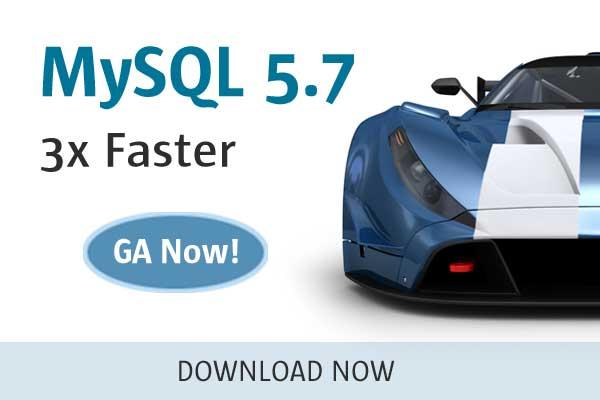 MySQL 5.7 GA