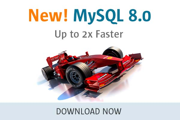 MySQL 8.0 - Up to 2x Faster