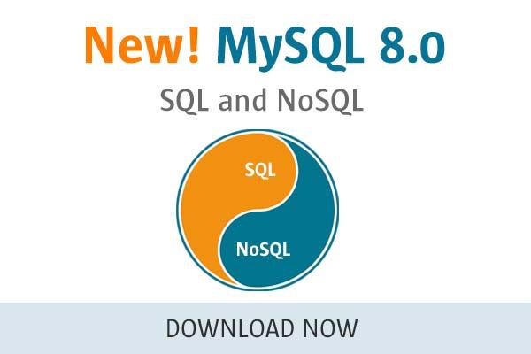 MySQL 8.0 - SQL and NoSQL