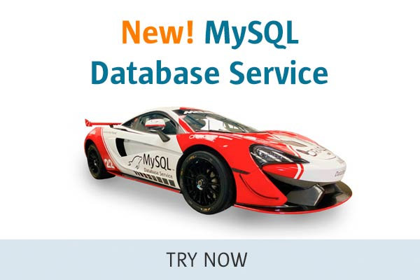 New! MySQL Database Service