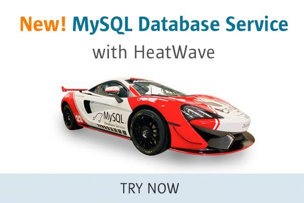 新的!MySQL数据库服务